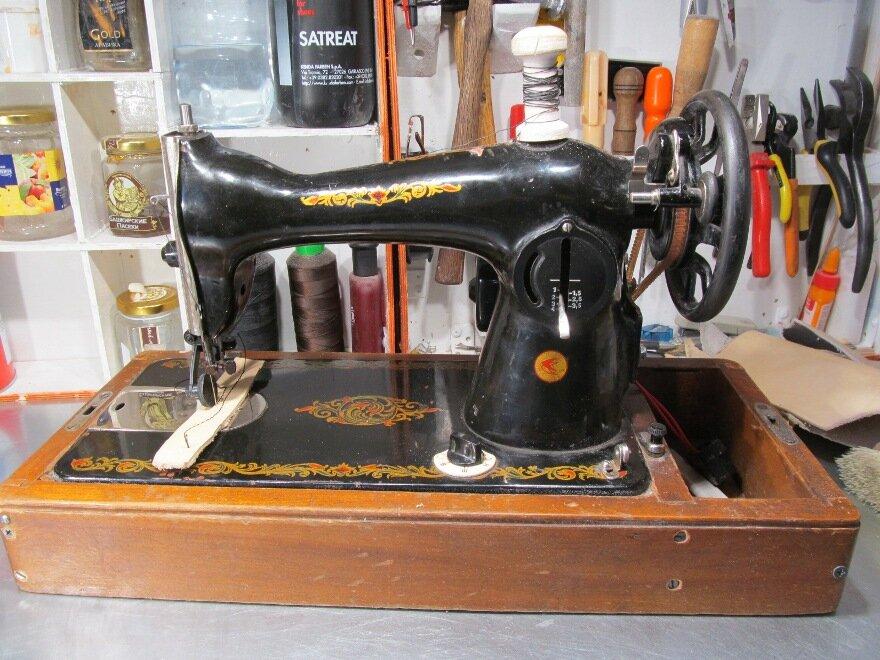 Швейные машинки для сумок из кожи